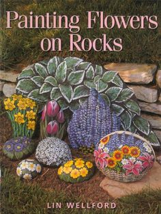Lin Wellford S Rock Painting Site Images Wow! This takes rock painting to another level.I'd better practice some more! Pebble Painting, Pebble Art, Stone Painting, Painting Flowers, Drawing Flowers, Rock Painting Patterns, Rock Painting Designs, Stone Crafts, Rock Crafts