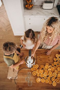 Our Kitchen - Barefoot Blonde by Amber Fillerup Clark Lifestyle Photography, Family Photography, Butcher Block Island, Amber Fillerup Clark, White Wash Brick, Barefoot Blonde, Future Mom, Shooting Photo, Cabinet Styles