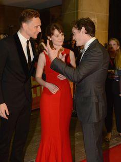 Anton Yelchin, Mia Wasikowska and Tom Hiddleston at TIFF 2013
