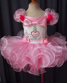 Infant/toddler/baby/children/kids Girl's Pageant evening/prom/ball Dress/clothing/gown for birthday,bridal,gift,party 1~5T New G029-1