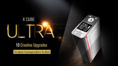 Smok's  X Cube Ultra is latest E Mod from SMOK with ten creative upgrades. 10 creative improvements makes X Cube ultra to be the highest technological mod in Kansas City