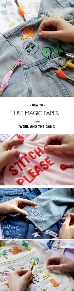 HOW TO USE MAGIC PAPER | @woolandthegang