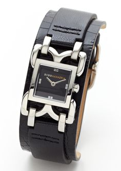 Like the cuff style, and I firmly believe you can never have too many watches. BCBGMAXAZRIA  Ladies Cuff Strap Watch