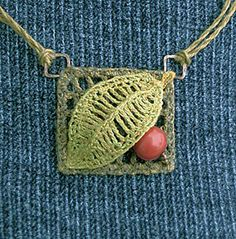 p. 59 - Part G pattern by knot  BlueRobinSue's Off the Grid Pendant
