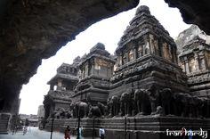 Khailash Montain Temple - Ellora Caves. Aurangabad