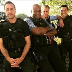 Image may contain: one or more people and outdoor Hawaii Five O, Fan Page, Fans, Memories, Instagram Posts, People, Image, Outdoor, Sweet