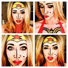 Pop Art Wonder Woman.