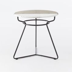 129 west elm 30 in Colorblock Woven Dining Table