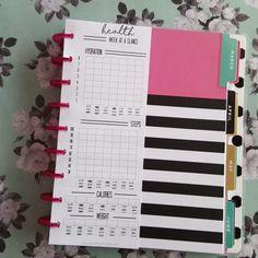 Healthy Planner Printable