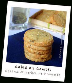 Sablés au compté, sésame et herbes de Provence (13)