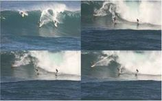 Instead of getting surgery, an adventurous surfer in Hawaii sought a different approach to treat his eye condition — he dipped his head into the rushing water while surfing a gigantic, 30-foot (10 meters) wave, according to a new report of his case.