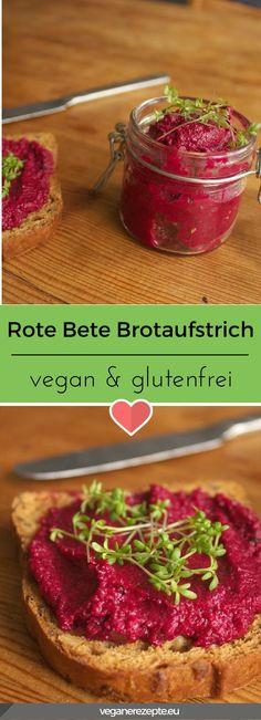 Rote Bete Meerrettich Brotaufstrich bietet nicht nur tolle Farben, sondern auch ein grandioses Geschmackserlebnis. Dazu vegan und glutenfrei. #vegan #brotaufstrich #rotebete #glutenfrei #veganfood #rezept #aufstrich #meerrettich #horseradish