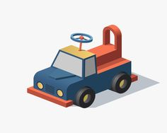 Isometric Illustrations by Facultative Works