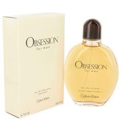 Obsession  Eau de Toilette 6.7 - 6.8 oz EDT 200 ml  by Calvin Klein for Men NIB #CalvinKlein