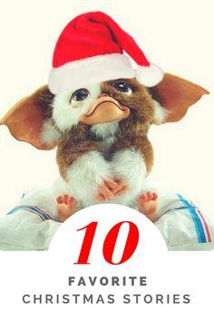 Author Robert Gray's Top 10 Favorite Christmas Stories http://www.celluloiddiaries.com/2012/12/favorite-christmas-stories.html (Christmas, Christmas movies, Christmas films, Christmas stories, stories about Christmas, movies about Christmas, films about Christmas, Gremlins, Mogwai)