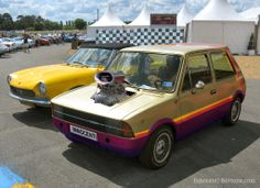 "Innocenti Bertone 120 Pro Street Kustom ""Hotwheels"""