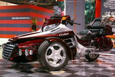 Vertika Trykes VTC-CRS-200 Trike (Cruiser Kit for Honda Goldwing), Price: $23920, Installation & Paint Included (fits any 1000cc Touring Motorcycle), Shipping & Handling Not Included.    http://vertikatrykescanada.com/boutique.shtml?cat=VERTIKA&search=VTC-CRS-200&submit.x=23&submit.y=15