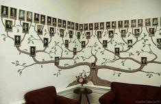 Amazing Family Tree Wall Art #diy #homedecor