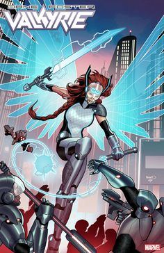 Apparently we are only 80 years away from and Marvel is hyping the return to the dystopian future with a number of 2099 variant covers landing this November. Marvel 2099, Marvel Comics Art, Marvel Heroes, Valkyrie Marvel Comics, Marvel Marvel, Thor, Marvel Comic Character, Marvel Characters, Character Art