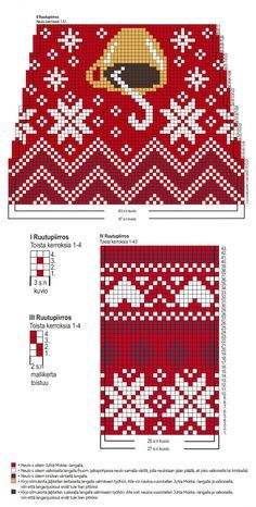 Fair Isle Knitting Patterns, Knitting Charts, Knitting Socks, Mosaic Patterns, Crochet Patterns, Crochet Gloves, Chart Design, Christmas Knitting, Diy Crochet