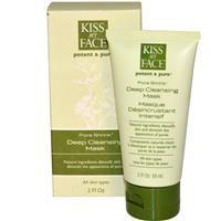 Kiss My Face, Potent & Pure, Pore Shrink, Deep Cleansing Mask, 2 fl oz (59 ml) - iHerb.com