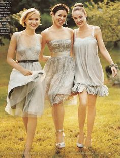 bridesmaid ideas (the one on the left)