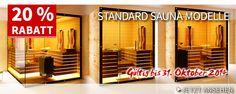 Rabatte, SparPaketen, Gratis Geschenke und aufregende Neuheiten bei SAUNA KING