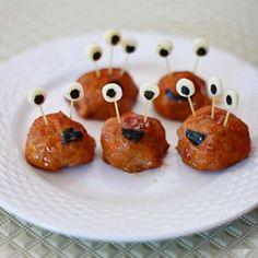 Halloween meatball