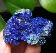 Breathtaking-Royal-Blue-Azurite-Mineral-Specimen-Liufengshan-Anhui-China-15-644