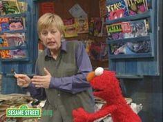 Sesame Street: Ellen DeGeneres And Elmo - YouTube