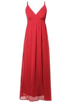 ABELONE - Robe longue - rouge