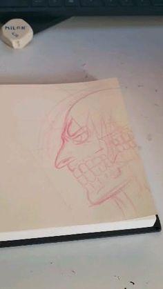 Aquí el proceso de cómo hice este dibujo, también podéis ver más procesos de mis dibujos en tik tok