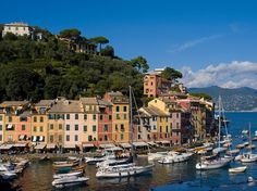 The coastal town of Portofino is one of the most beautiful European ports to sail into, in our opinion. It also has a wealth of excellent hotels like the Hotel Splendido and the Grand Hotel Miramare, great shopping, and of course, that radiant coastline.