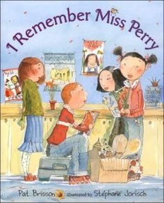 A blog post about children's books that relate to grief: I haven't had a chance to read any of these yet.