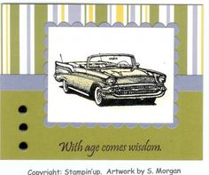 Classic car birthday card birthdays cars and cards classic cars birthday card bookmarktalkfo Image collections