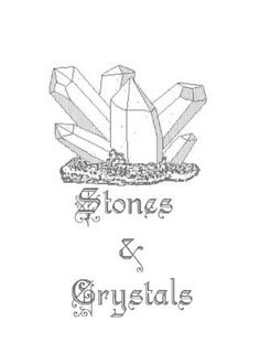 stones and crystals title page~ https://www.facebook.com/thesoulfuleclectic