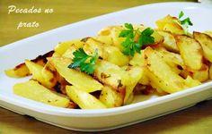 Receitas de pecados no prato: Batatas salteadas e assadas