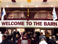 Welcome to the barn.