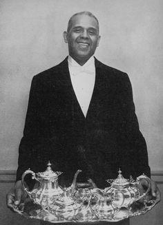 Alonzo Fields (1900-1994), White House butler for 21 years, serving presidents Hoover, Roosevelt, Truman, and Eisenhower.