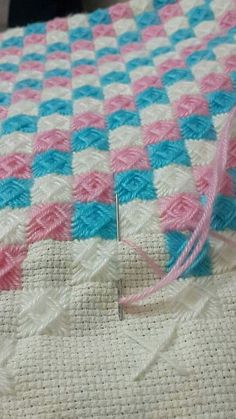 Discover thousands of images about Meryem Ay Needlepoint Stitches, Knitting Stitches, Knitting Patterns, Crochet Patterns, Flower Embroidery Designs, Ribbon Embroidery, Cross Stitch Embroidery, Cross Stitch Designs, Cross Stitch Patterns