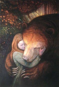 )O( Brigid and the bear