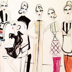 10 Fashion Illustrators to Follow on Instagram Right Now | InStyle.com
