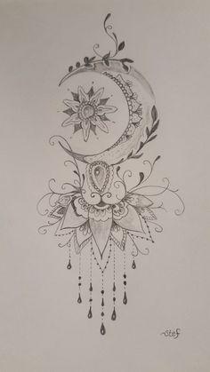 (notitle) - Tattoo-Ideen - Tattoo - (Notitle) - Tattoo-Ideen - Tatouage - de titre And Body Art Tatuajes Tattoos, Leg Tattoos, Body Art Tattoos, Tattoo Drawings, Small Tattoos, Tattoo Art, Peace Tattoos, Tattoo Thigh, Poke Tattoo