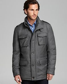 Moorer Wool Field Jacket | Bloomingdale's