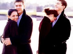 I've recently renewed my obsession with Pacey and Joey on Dawson's Creek. Beautiful people. gorgeousness