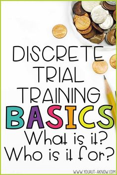 Discrete Trial Training is an evidence based practice for Autism, but what exactly is it and who is it best suited for? Come check out this blog post for the basics on DTT!