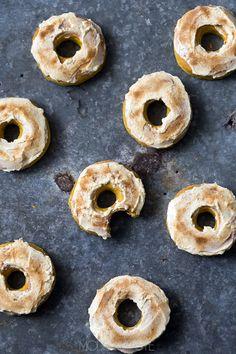 pumpkin maple donuts.