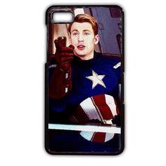 Steve Roger Captain America TATUM-10143 Blackberry Phonecase Cover For Blackberry Q10, Blackberry Z10