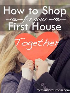 Buying your first house with the person you love. | www.mattminordurham.com