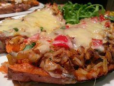 Slimming World Delights: Chipotle Chicken Sweet Potato
